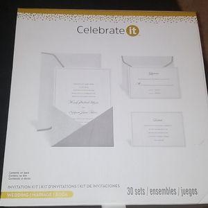 Wedding invitation kit